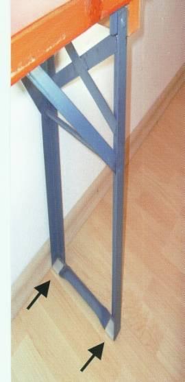 Aufsteck-Bodenschoner-Set 12teilig - Bild vergrößern