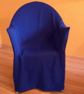 Husse für - Lord Yo - Stuhl , Farbe Königsblau - Bild vergrößern