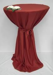 Stehtisch-Hussen rost-rot