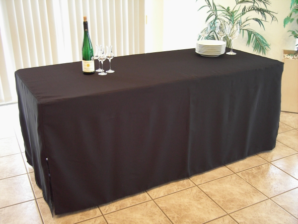Mb Heimservice Tischhusse Schwarz Für Tischgröße